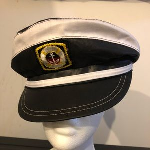 Other - Vintage Captains hat. Made in USA by the UHCMW